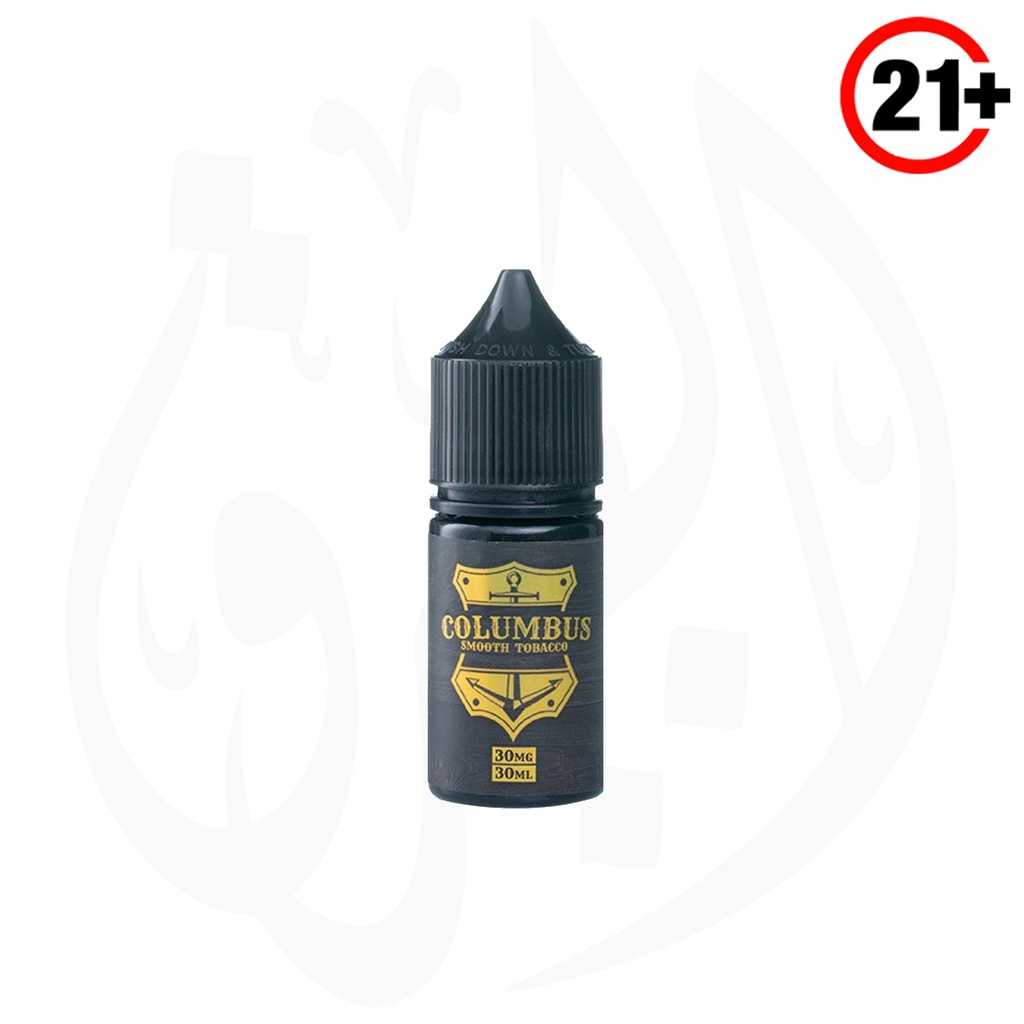 Grand Eliquid Columbus Smooth Tobacco SaltNic