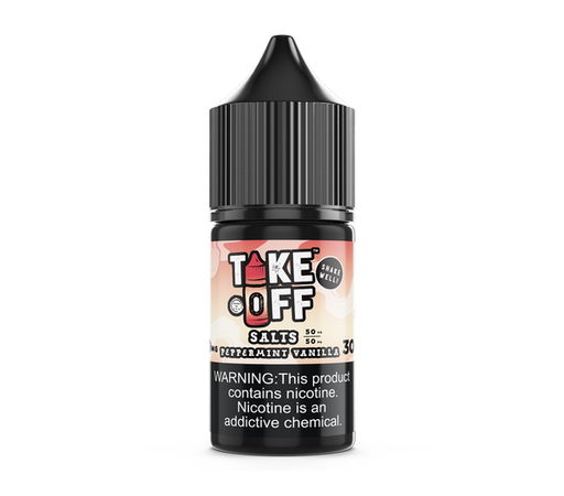 take off Peppermint Vanilla SaltNic